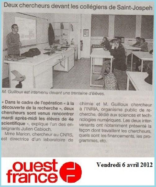 rencontres de chimie organique 2012