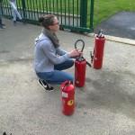 Formation incendie - Collège Saint Joseph Bain-de-Bretagne option sécurité prévention