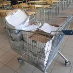 Commission développement durable : atelier sur le recyclage du papier