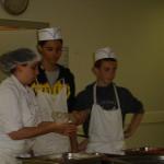 Repas espagnol au collège Bain-de-Bretagne