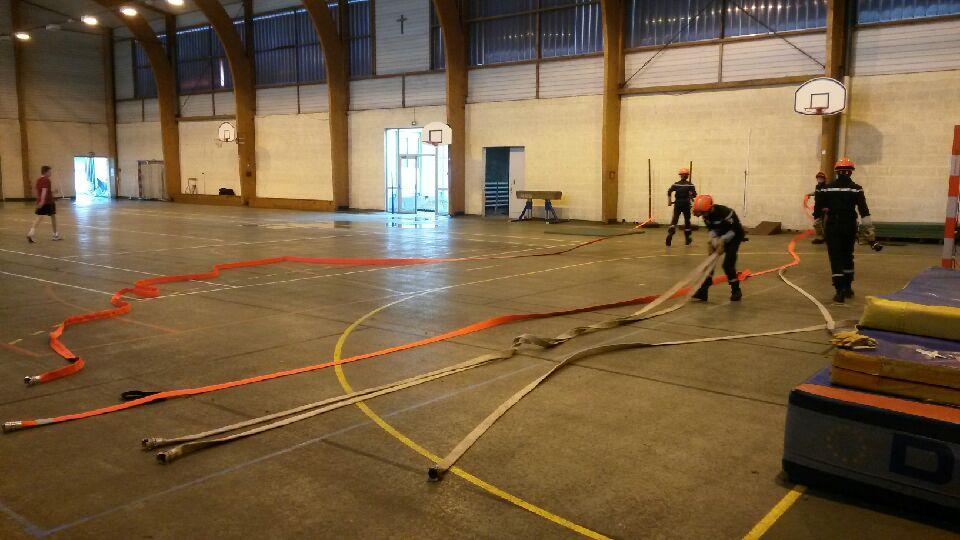 Section Jeunes Sapeurs Pompier Bain-de-Bretagne (1)