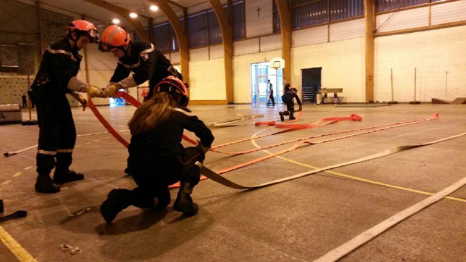 Section Jeunes Sapeurs Pompier Bain-de-Bretagne (3)