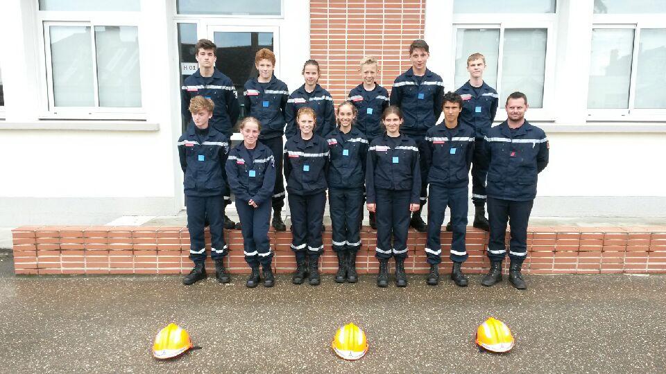 Section Jeunes Sapeurs Pompier Bain-de-Bretagne (4)