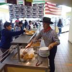 repas américain Bain-de-Bretagne (3)