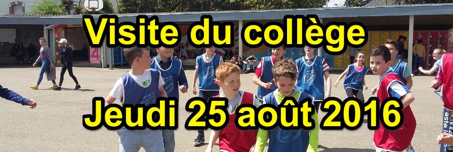 visite du collège Saint Joseph Bain-de-Bretagne