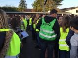 Exercice de mise en sureté Bain-de-Bretagne collège (1)