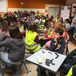 Exercice de mise en sureté Bain-de-Bretagne collège (4)