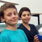 Nathan et Pacôme 3è prix