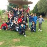 Journée intégration 6ème jardins de Brocéliande (7)