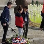 cérémonie du souvenir français collège Bain-de-Bretagne (1)