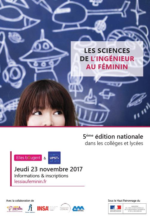 sciences ingénieur féminin