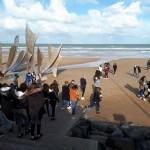 Sortie Caen plages débarquement Bain-de-Bretagne collège 3ème (5)