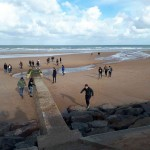 Sortie Caen plages débarquement Bain-de-Bretagne collège 3ème (7)