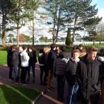 Sortie Caen plages débarquement Bain-de-Bretagne collège 3ème (8)