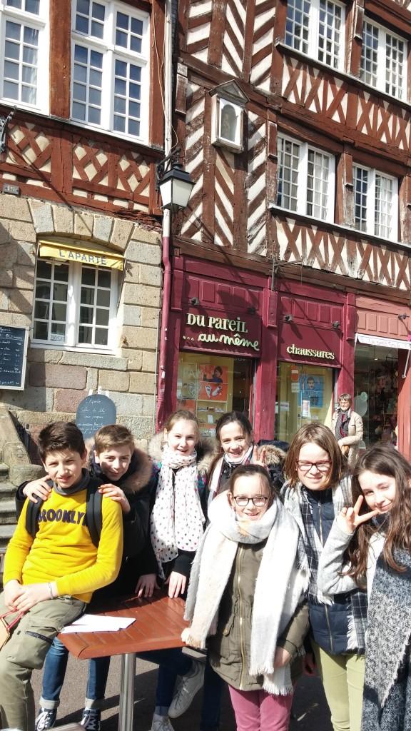 Semaine éducative des 6èmes collège Saint Joseph Bain-de-Bretagne (1)