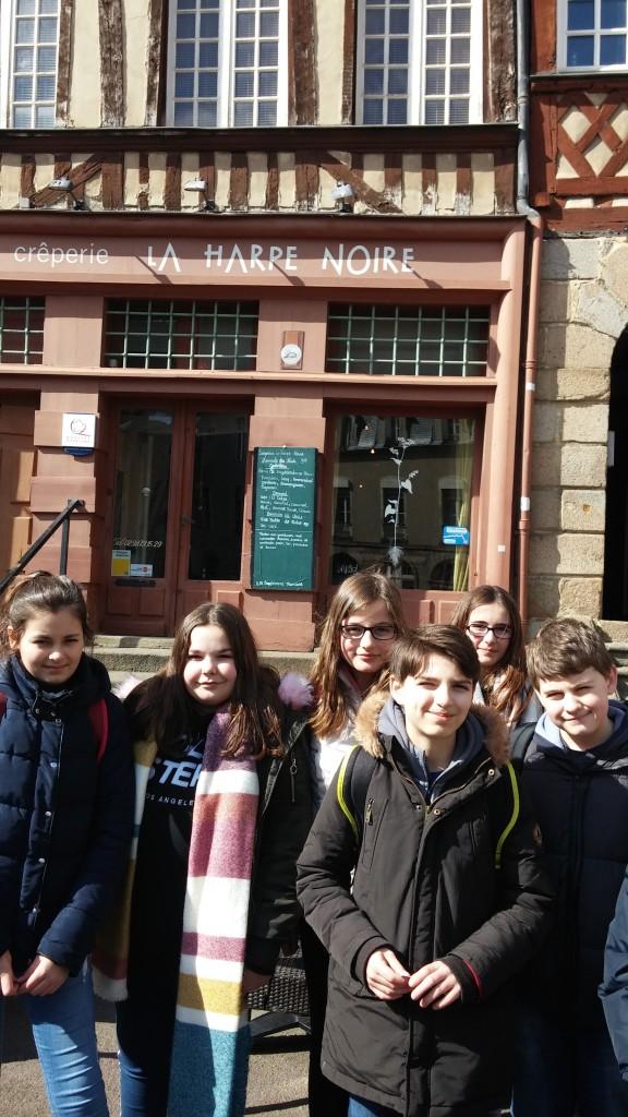 Semaine éducative des 6èmes collège Saint Joseph Bain-de-Bretagne (2)