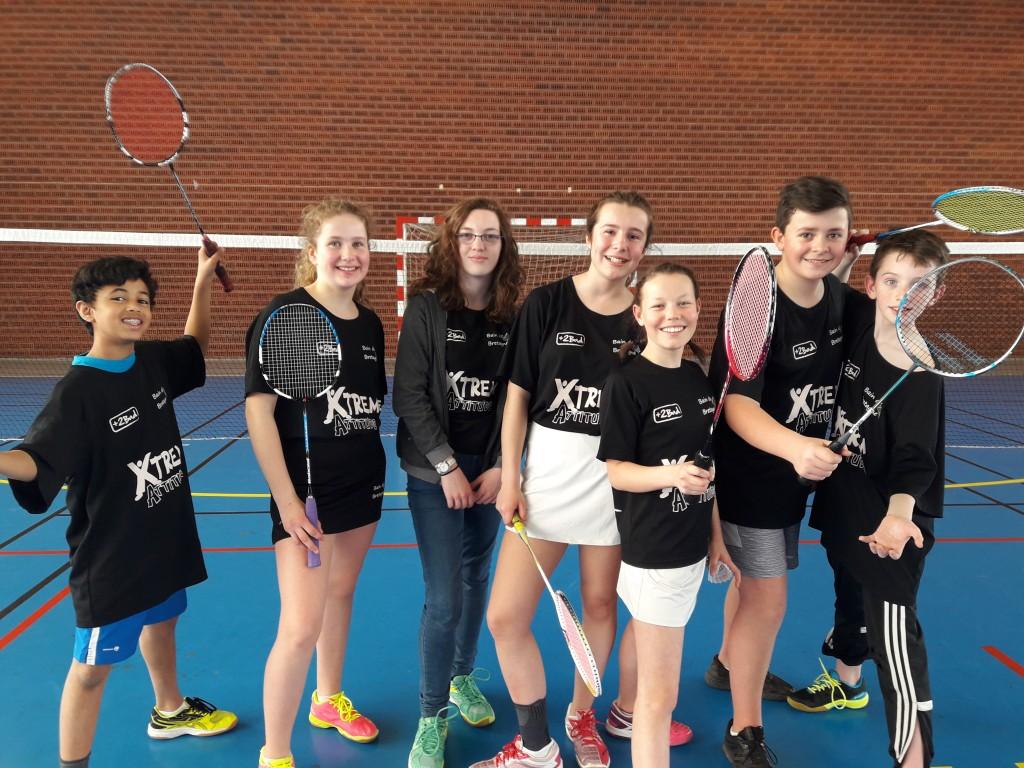 Badminton régional par équipe