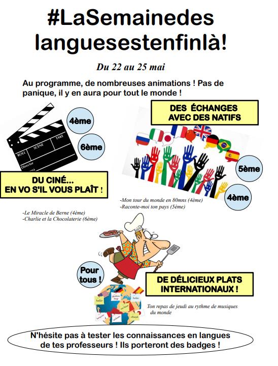 semaine des langues Bain-de-Bretagne