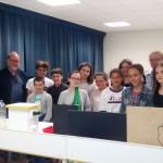 Visite et cours dans un labo de l'UBS