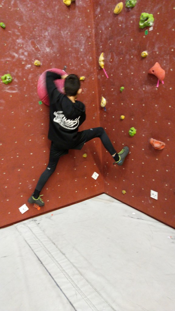 Compétition d'escalade (1)
