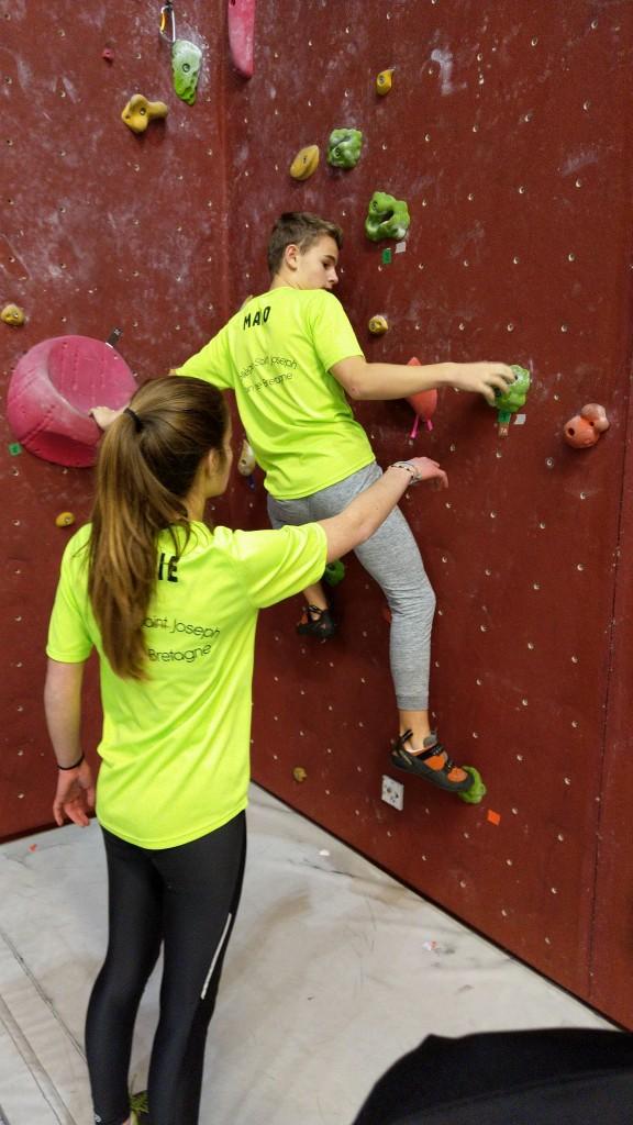 Compétition d'escalade (2)