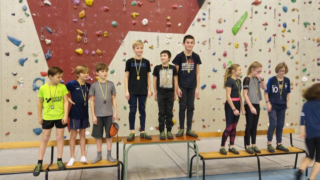 Compétition d'escalade (3)