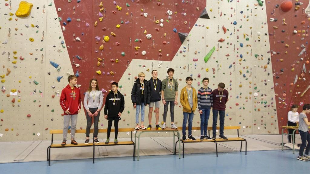 Compétition d'escalade (5)