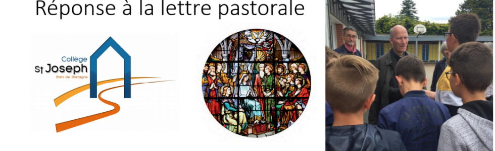 réponse à la lettre pastorale