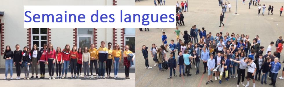 semaine des langues Bain