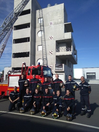 remise brevet pompier l'Hermitage (1)