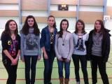 Double départemental Badminton - Ugsel Collège Bain de Bretagne