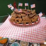 repas américain Bain-de-Bretagne (13)