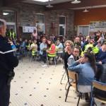 Exercice de mise en sureté Bain-de-Bretagne collège (3)