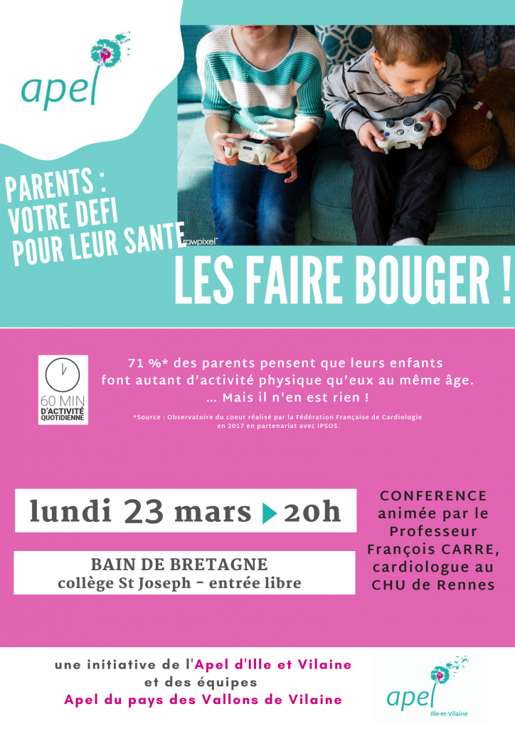 conf bouger 23 mars