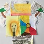 Projet lumière Arts Plastiques collège Bain-de-Bretagne 6ème (44)