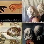 Parodie des oeuvres d'arts collège Saint-Joseph Bain-de-Bretagne (18)