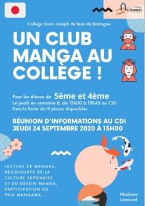 visuel club manga