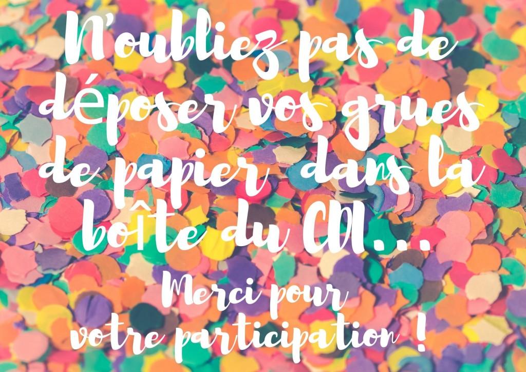 visuel appel participation origami