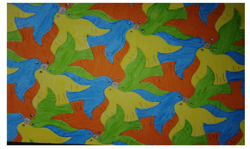 Pavage à la manière d' Escher 2