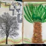 Les arbres arts plastiques collège Saint Joseph Bain-de-Bretagne (29)