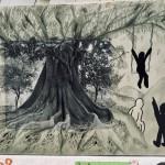 Les arbres arts plastiques collège Saint Joseph Bain-de-Bretagne (7)