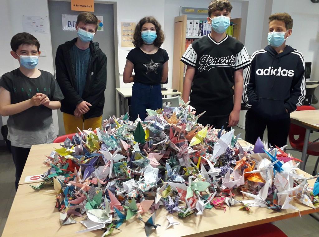 Origami pour la Paix (5)