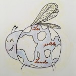 Projet Logo association Les petites lucioles - collège Bain-de-Bretagne (30)